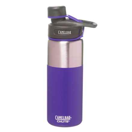 CamelBak Chute Stainless Steel Water Bottle - 20 fl.oz., Vacuum Insulated in Violet - Closeouts