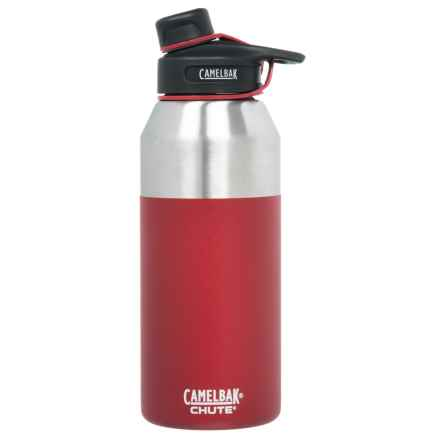 CamelBak Chute Stainless Steel Water Bottle - 40 oz., Vacuum Insulated, BPA-Free in Brick - Closeouts