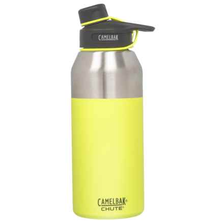 CamelBak Chute Stainless Steel Water Bottle - 40 oz., Vacuum Insulated, BPA-Free in Lime - Closeouts