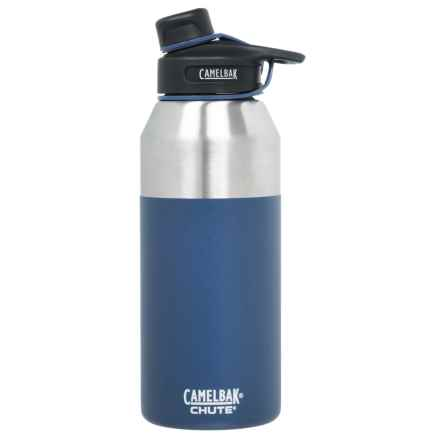 CamelBak Chute Stainless Steel Water Bottle - 40 oz., Vacuum Insulated, BPA-Free in Pacific - Closeouts