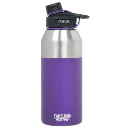 CamelBak Chute Stainless Steel Water Bottle - 40 oz., Vacuum Insulated, BPA-Free in Violet - Closeouts