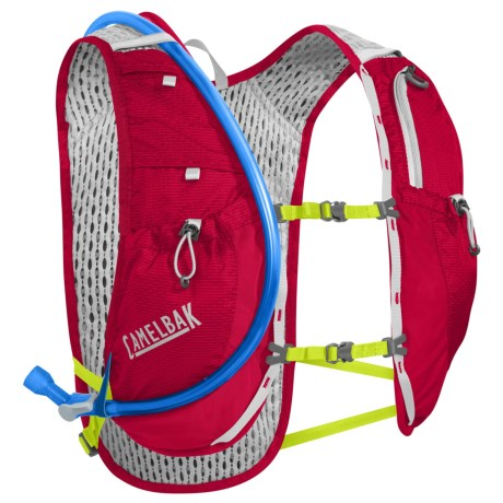 CamelBak Circuit Hydration Vest - 50 fl.oz. in Crimson Red/Lime Punch