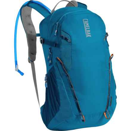 CamelBak Cloud Walker 18 Hydration Pack - 85 fl.oz. in Grecian Blue/Pumpkin - Closeouts