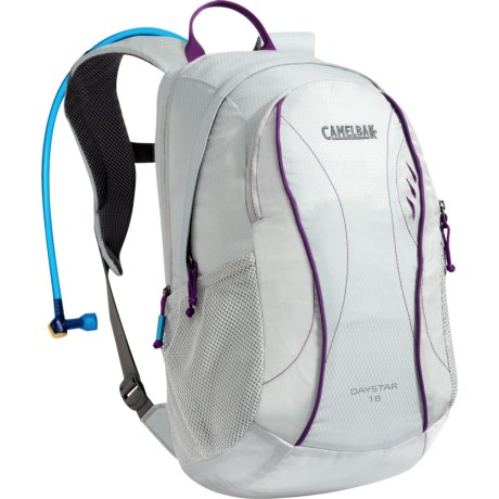 CamelBak Day Star Hydration Pack - 2L Reservoir (For Women) in Mirage Gray/Imperial Purple