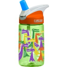 CamelBak Eddy Kids Water Bottle - BPA-Free, 13.5 fl.oz. in Dino Party - Closeouts