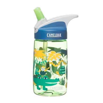 CamelBak Eddy Kids Water Bottle - BPA-Free, 13.5 fl.oz. in Jungle Animals - Closeouts