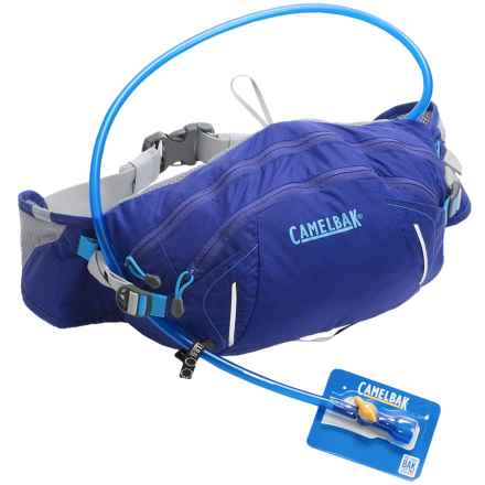 CamelBak FlashFlo LR Hydration Lumbar Pack - 50 fl.oz. in Deep Amethyst/Cascade - Closeouts