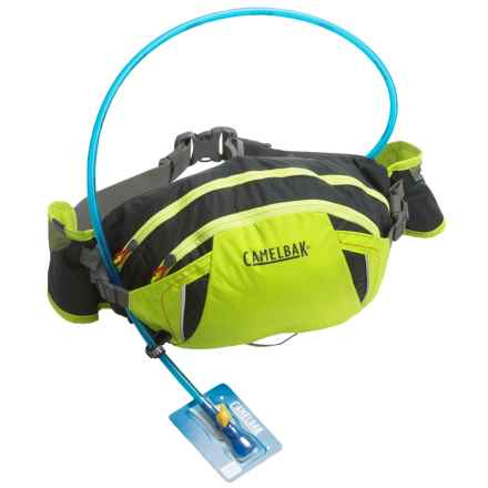 CamelBak FlashFlo LR Hydration Lumbar Pack - 50 fl.oz. in Lime Punch/Charcoal - Closeouts