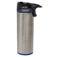 CamelBak Forge Vacuum-Insulated Travel Mug - Stainless Steel, 16 fl.oz. in Blue Steel - Closeouts