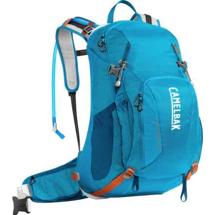 CamelBak Franconia LR 24 Hydration Pack - 100 oz. in Grecian Blue/Pumpkin - Closeouts