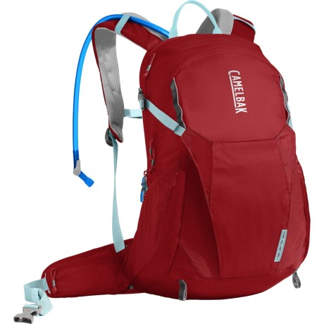 CamelBak Helena 20 Hydration Pack - 85 fl.oz. (For Women) in Red Dhalia/Stone Blue