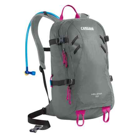 CamelBak Helena 22 Hydration Backpack - 100 fl.oz. (For Women) in Graphite/Bright Fuchsia - Closeouts