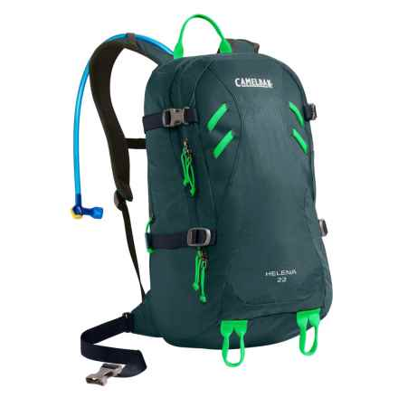 CamelBak Helena 22 Hydration Backpack - 100 fl.oz. (For Women) in Reflecting Pond/Andean Toucan - Closeouts