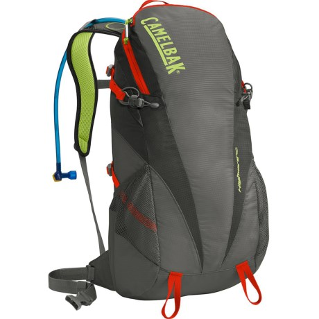 CamelBak Highwire 20 Hydration Pack - 100 fl.oz. in Gunmetal/Pirate Black