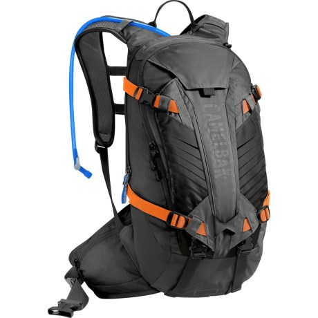 CamelBak K.U.D.U. 12L Hydration Pack - 100 fl.oz. in Black/Laser Orange