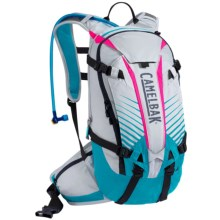 CamelBak K.U.D.U. 12L Hydration Pack - 100 fl.oz. in Silver/Atomic Blue - Closeouts