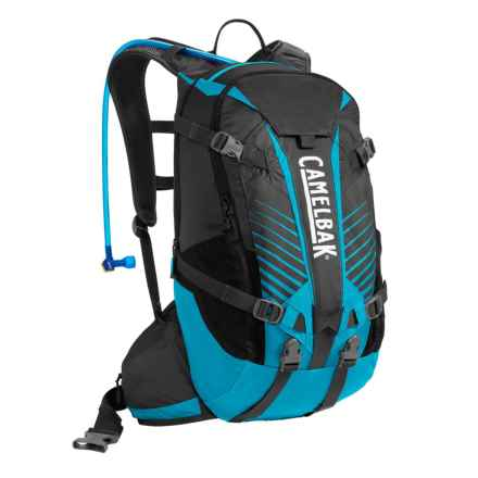 CamelBak K.U.D.U. 18 Hydration Pack - 100 fl.oz. in Charcol/Atomic Blue - Closeouts