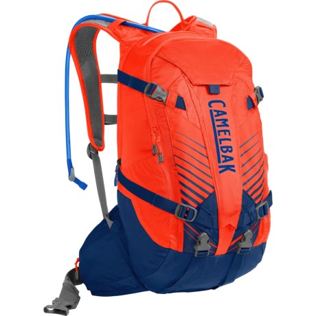 CamelBak K.U.D.U. 18 Hydration Pack - 100 fl.oz. in Cherry Tomato/Pitch Blue