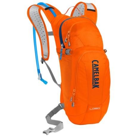 CamelBak Lobo 3L Hydration Pack - 100 fl.oz. in Laser Orange/Pitch Blue