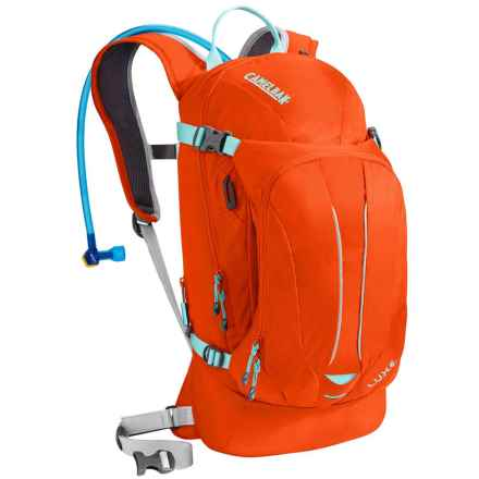 CamelBak L.U.X.E. Hydration Pack - 100 fl.oz. (For Women) in Flame/Aruba Blue - Closeouts