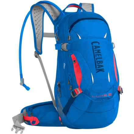 CamelBak L.U.X.E. LR 14 Hydration Pack - 100 oz. (For Women) in Carve Blue/Fiery Coral - Closeouts