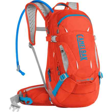 CamelBak L.U.X.E. LR 14 Hydration Pack - 100 oz. (For Women) in Cherry Tomato/Atomic Blue - Closeouts