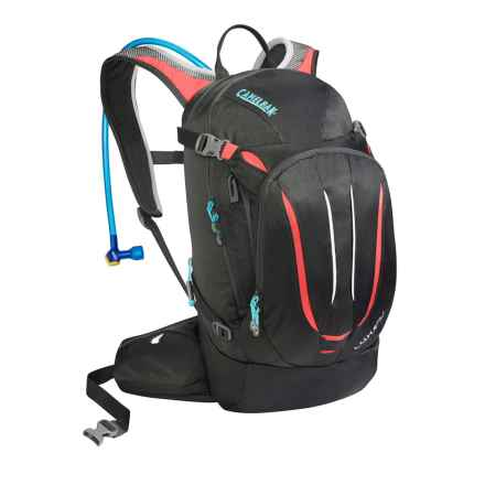 CamelBak L.U.X.E. NV Hydration Pack - 100 fl.oz. (For Women) in Charcoal/Fiery Coral - Closeouts