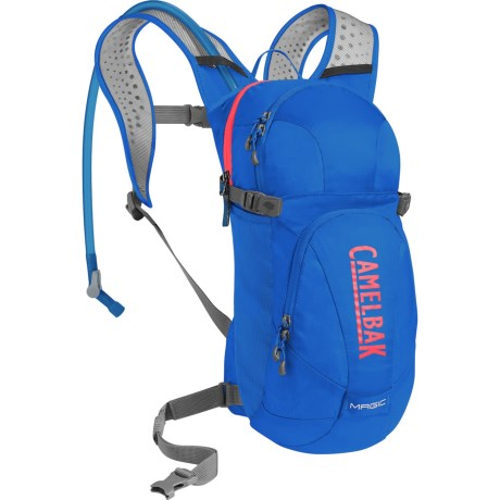 CamelBak Magic 5L Hydration Backpack - 70 fl.oz. (For Women) in Carve Blue/Fiery Coral