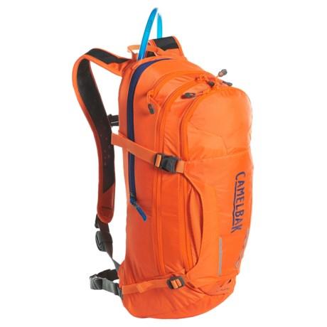 CamelBak M.U.L.E. 8L Hydration Pack - 100 fl.oz. in Laser Orange/Pitch Blue