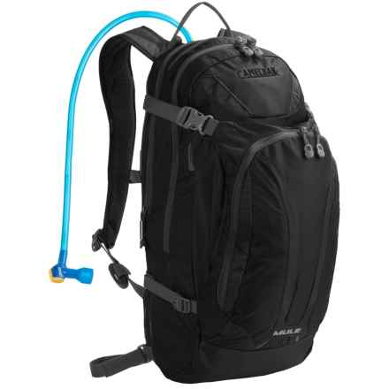 CamelBak M.U.L.E. Hydration Pack - 100 fl.oz. in Charcoal - Closeouts