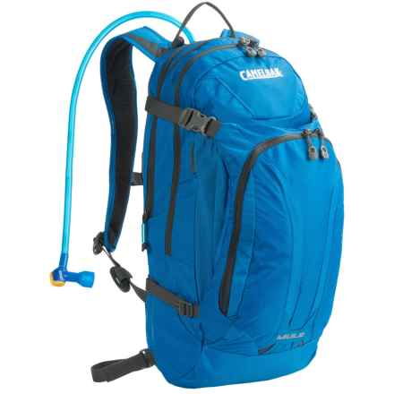 CamelBak M.U.L.E. Hydration Pack - 100 fl.oz. in Imperial Blue/Charcoal - Closeouts