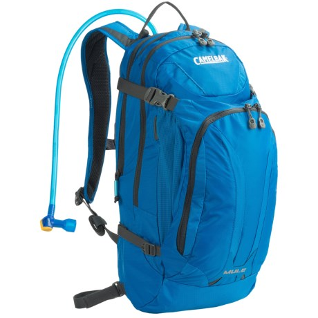 CamelBak M.U.L.E. Hydration Pack - 100 fl.oz. in Imperial Blue/Charcoal