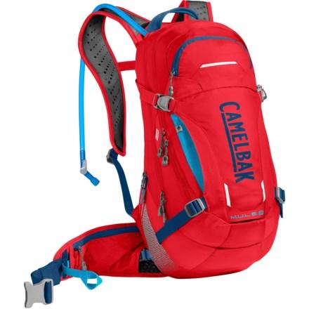 43321dd0feb CamelBak M.U.L.E LR 15L Hydration Backpack - 100 fl.oz. in Racing Red/