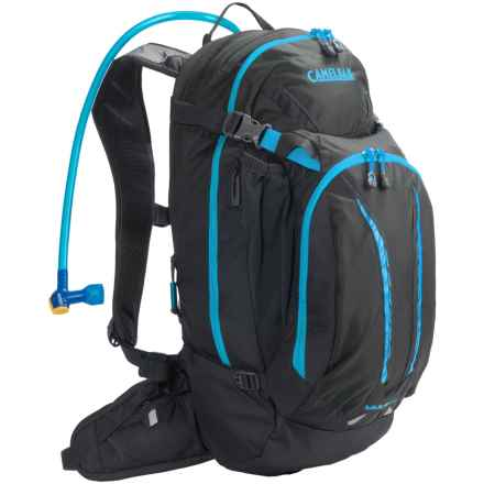 Camelbak M.U.L.E. NV Hydration Pack - 100 fl.oz. in Charcoal/Atomic Blue - Closeouts