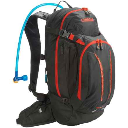 Camelbak M.U.L.E. NV Hydration Pack - 100 fl.oz. in Charcoal/Ember - Closeouts