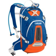 CamelBak M.U.L.E. NV Hydration Pack - 100 fl.oz. in Skydiver/Orange.Com - Closeouts