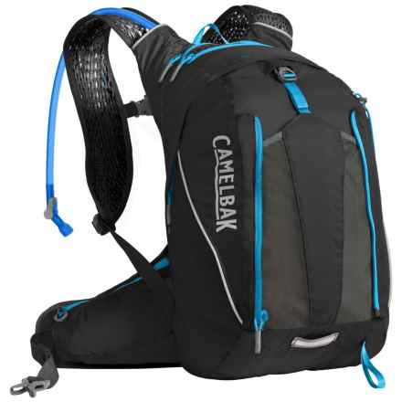 CamelBak Octane 16X 13L Hydration Backpack - 100 fl. oz. in Black/Atomic Blue - Closeouts