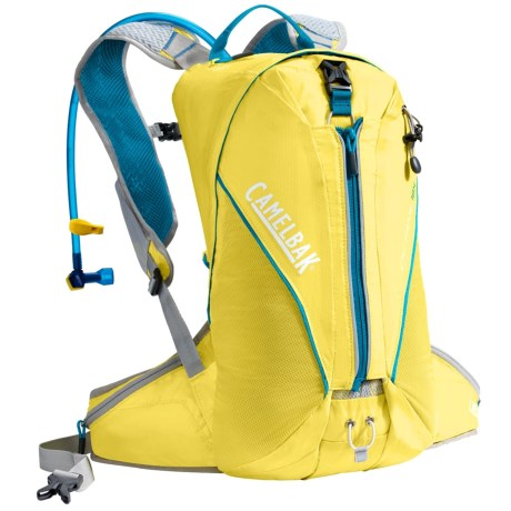 CamelBak Octane 18X Hydration Pack - 100 fl.oz. in Vibrant Yellow/Atomic Blue