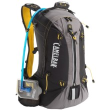 CamelBak Octane 18X Hydration Pack - 3L Reservoir in Black/Lemon Chrome - Closeouts