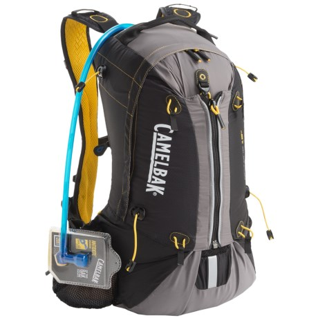CamelBak Octane 18X Hydration Pack - 3L Reservoir in Black/Lemon Chrome