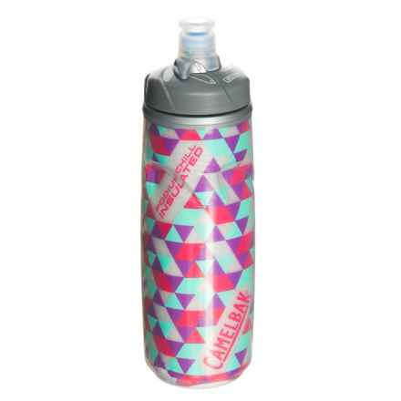 CamelBak Podium Chill Water Bottle - 21 oz. in Kaleidoscope Pink - Closeouts