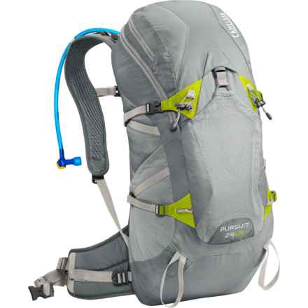 CamelBak Pursuit 24 LR Hydration Pack - 100 fl.oz. in Gunmetal/Lime Punch - Closeouts