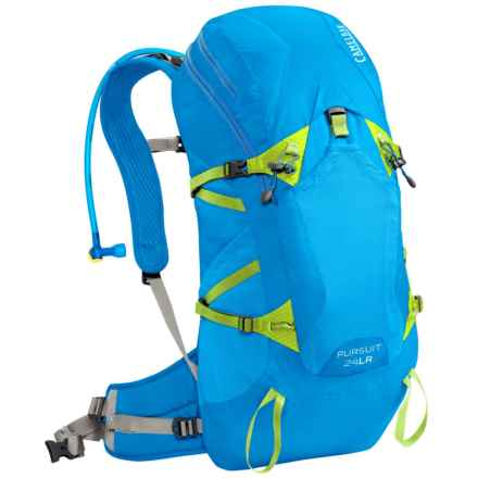 CamelBak Pursuit 24 LR Hydration Pack - 100 fl.oz. in Tahoe Blue/Lime Punch - Closeouts
