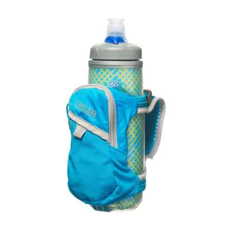 CamelBak Quick Grip Chill Water Bottle - 21 fl.oz. in Atomic Blue/Silver - Closeouts