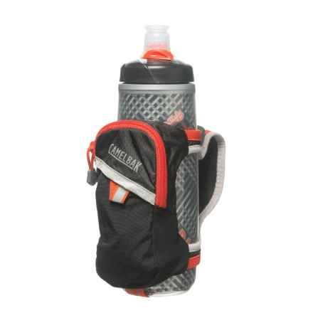 CamelBak Quick Grip Chill Water Bottle - 21 fl.oz. in Black/Cherry Tomato - Closeouts