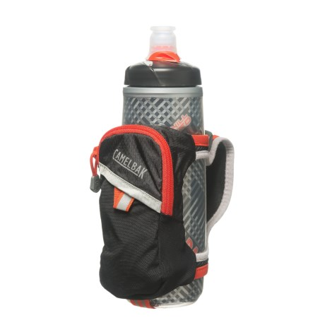 CamelBak Quick Grip Chill Water Bottle - 21 fl.oz. in Black/Cherry Tomato