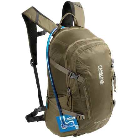 CamelBak Rim Runner 22 Hydration Pack - 100 fl.oz in Dusky Green/Black Olive - Closeouts
