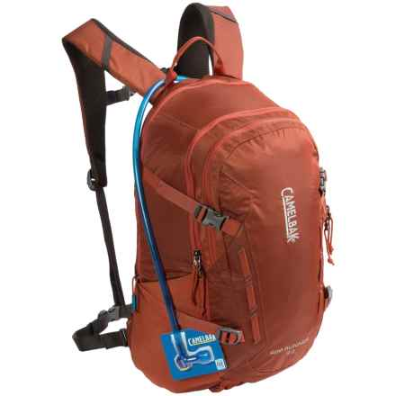 CamelBak Rim Runner 22 Hydration Pack - 100 fl.oz in Rooibos/Black Olive - Closeouts