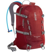 CamelBak Rim Runner 22 Hydration Pack - 100 fl.oz in Sienna Red/Gunmetal - Closeouts