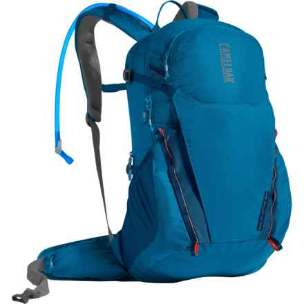 CamelBak Rim Runner 22 Hydration Pack - 85 fl.oz. in Grecian Blue/Pumpkin - Closeouts